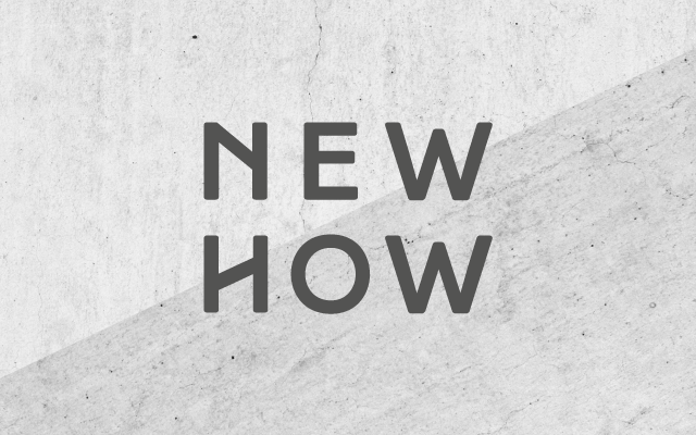 NEW HOW architects